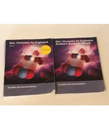 General Chemistry For Engineers Textbook Rutgers and Student Solutions M... - $59.99