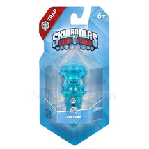 NEW Skylanders Trap Team Traptanium Air Trap Crystal Clear Blue Hourglass RARE - $24.99
