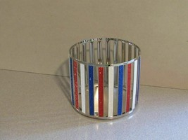 Bath and Body Works American Stripes 3 Wick Candle Holder - $20.90