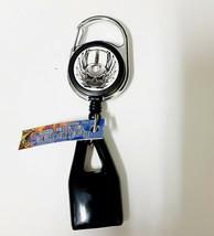 Lighter Leash Retractable Lighter Holder w/Premium Clip-Gray Skull - $6.49