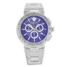 Versace Mystique Vfg120015 Stainless Steel Quartz Men's Watch - $2,586.31