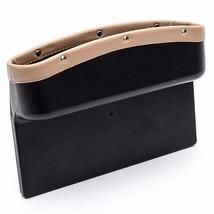 Car Storage Box Bag Leather Crevice Gap Pocket Organizer Phone Keys Card... - $32.12 CAD