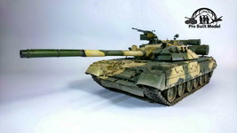 Russian T-80UD MBT 1:35 Pro Built Model - $272.25