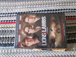 Lions for Lambs dvd Robert Redford, Meryl Streep and Tom Cruise - $6.51
