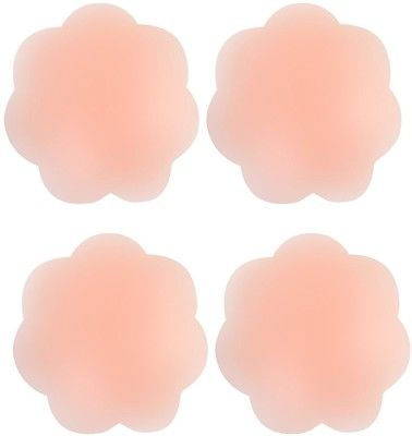 SNUG STAR 2 Pairs Women Pasties Adhesive Reusable Nipple Covers Silicon Breast - $11.28