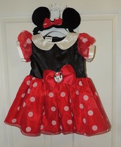NEW Disney Baby Girl Minnie Mouse Dress Up Costume Size 6-9 & 12-18 Months - $16.87
