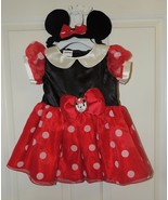 NEW Disney Baby Girl Minnie Mouse Dress Up Costume Size 6-9 & 12-18 Months - $32.02