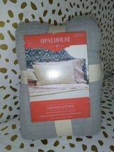 "Opalhouse Standard Gauze Pillow Sham Gray Sky -  20"" x 26"" NWT*clearance   image 2"