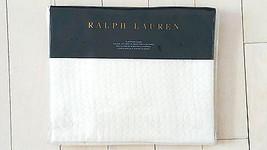 "$185 RALPH LAUREN Pillow Sham EURO Beckett Indigo Montauk WHITE 26"" x 26... - $73.48"
