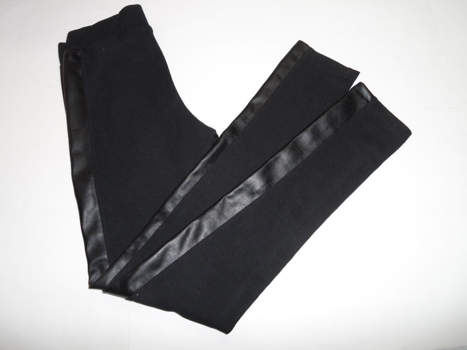 Nordstrom RID Faux Leather Panelled Legging Black Size S-$44 image 3