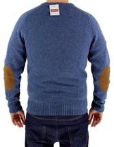 Levi's Men's Premium Classic Wool Sweater Blue 644590001 image 4