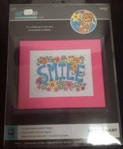 Zweigart Artiste SMILE Cross Stitch Kit  - NEW - $16.45