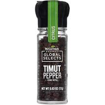 McCormick Gourmet Global Selects Timut Pepper from Nepal, 0.63 Ounce - $14.80