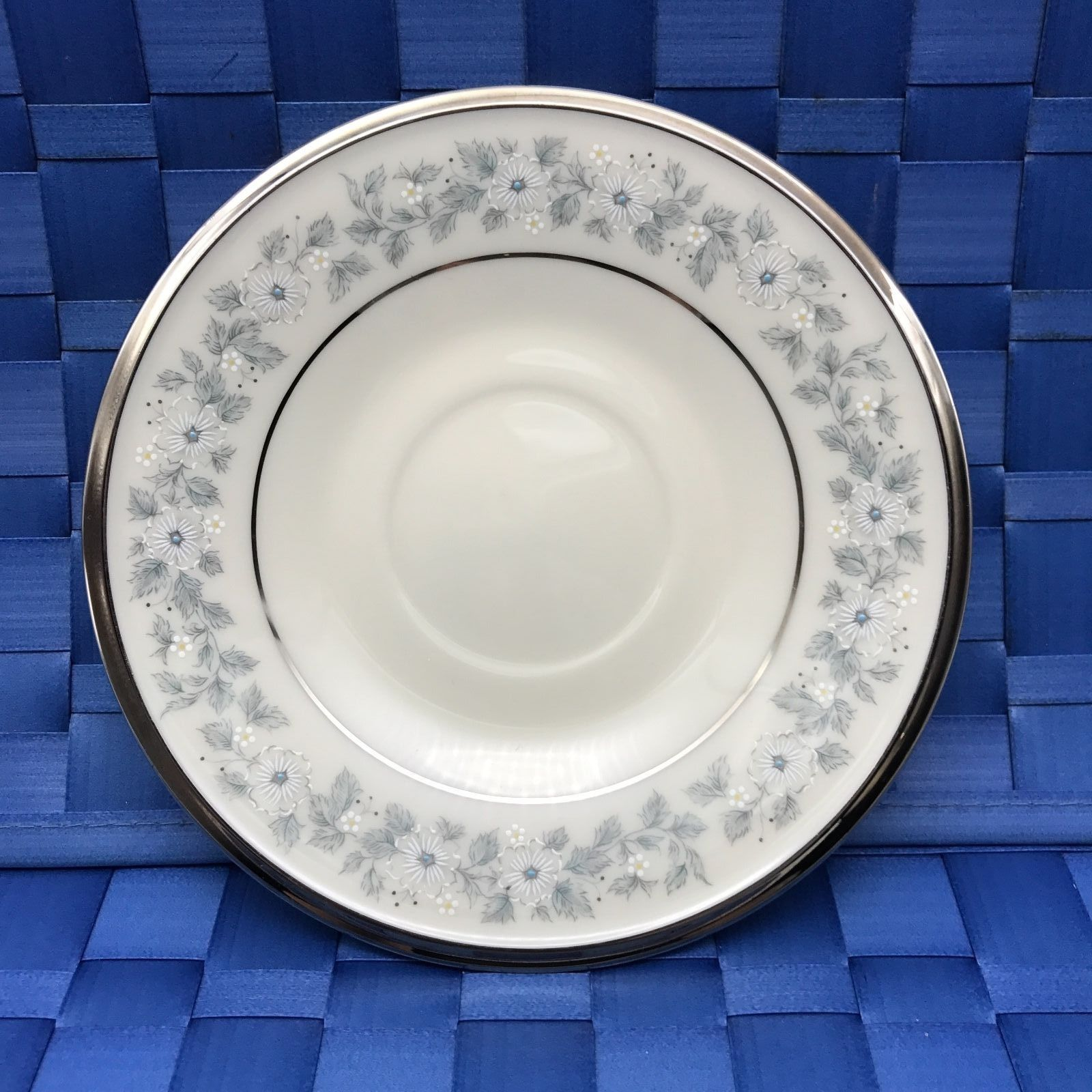 LENOX IVORY CHINA Windsong Pattern White flowers Blue *CHOOSE 1 PIECE* (561)