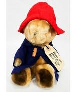 Vintage Eden Toys 1975 Paddington Bear Plush Bean Bag Teddy Stuffed Animal - £11.79 GBP