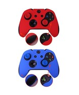 Pandaren Soft Silicone Thicker Skin Cover for Xbox One Controller Set Sk... - $12.25