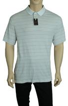 New Tasso Elba Stripe Ultra Soft Signature Polo Shirt L $55 - $14.99