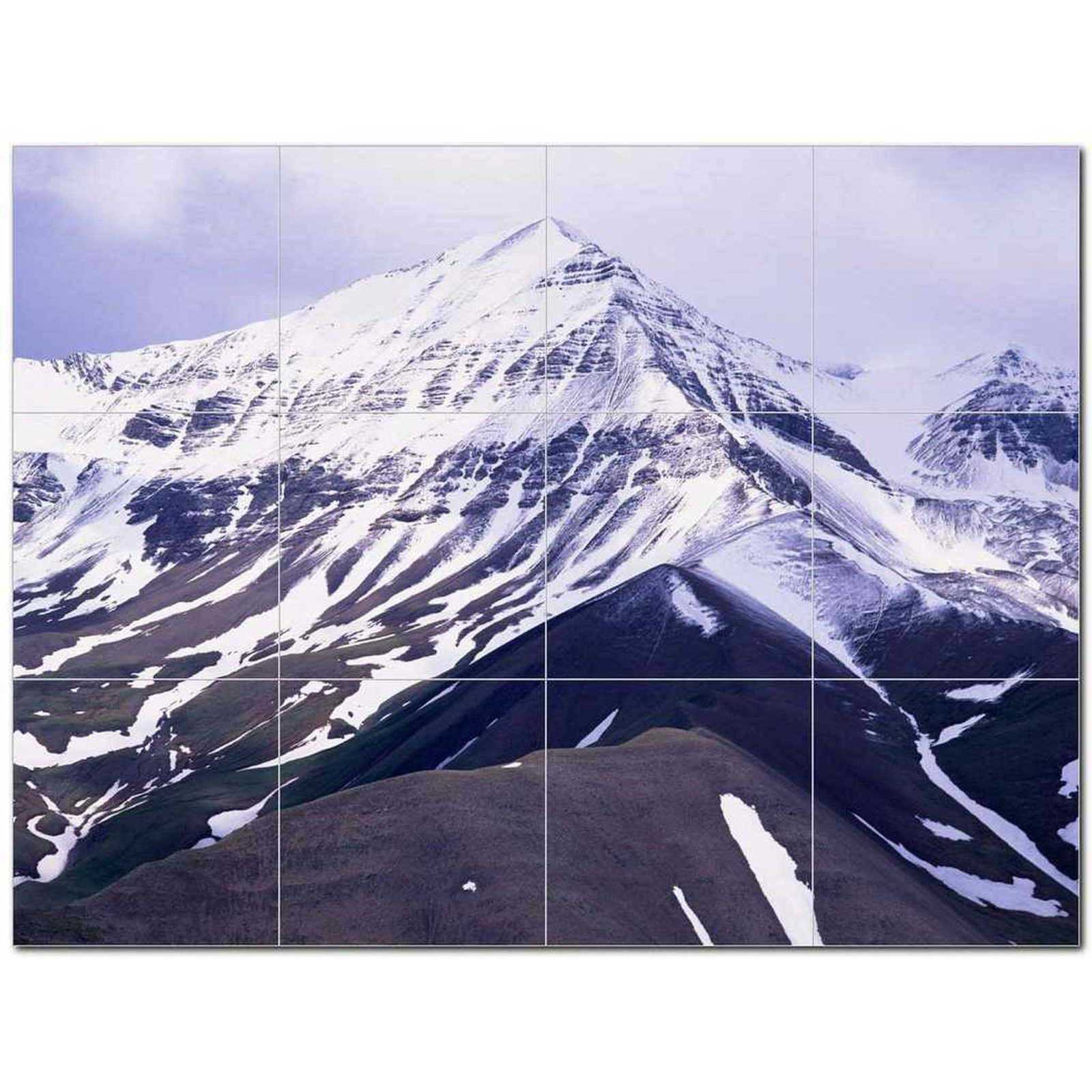 Primary image for Winter Photo Ceramic Tile Mural Kitchen Backsplash Bathroom Shower BAZ406386