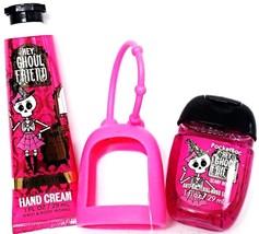 Bath and Body Works Hey Ghoul Friend Hand Cream, Pocketbac, Hot Pink Holder - $18.27