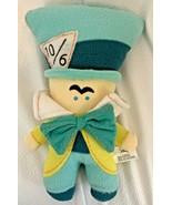 Disney Plush MAD HATTER DOLL Pook-A-Looz Alice In Wndrlnd Soft Fleece To... - $12.34