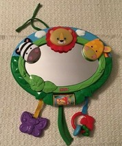 Fisher Price Rainforest Music & Lights Mirror - 2 Lengths of Play, N1069 - $17.82