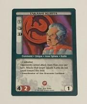 Battletech Takashi Kurita TCG 1996 CCG Wizards of the Coast Trading Card Green - $7.91