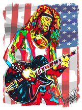 "Ted Nugent, The Amboy Dukes, Singer, Rock Guitar, Hard Rock, 18""x24"" Art... - $19.99"