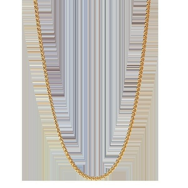 "Origami Owl Chain (new) 24""-26"" GOLD MODERN WHEAT (CUBE) (CN6077) - $22.82"