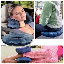 Hot Total Pillow Comfort Plum Blossom Cushion Travel Twist Neck Back Hea... - $8.99