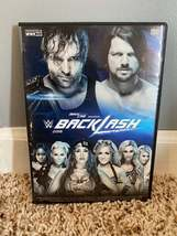 WWE Backlash 2016 DVD + Custom Case - $25.00