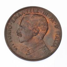 1917 Italie 2 Centesimi Pièce de Monnaie En Unc. Km #41 - $39.34