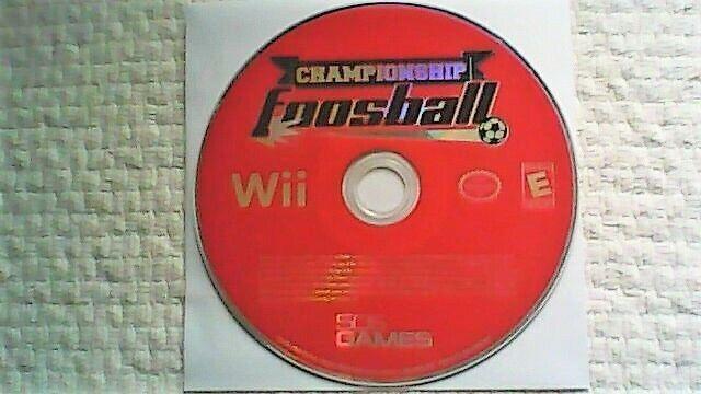 Championship Foosball (Nintendo Wii, 2008)