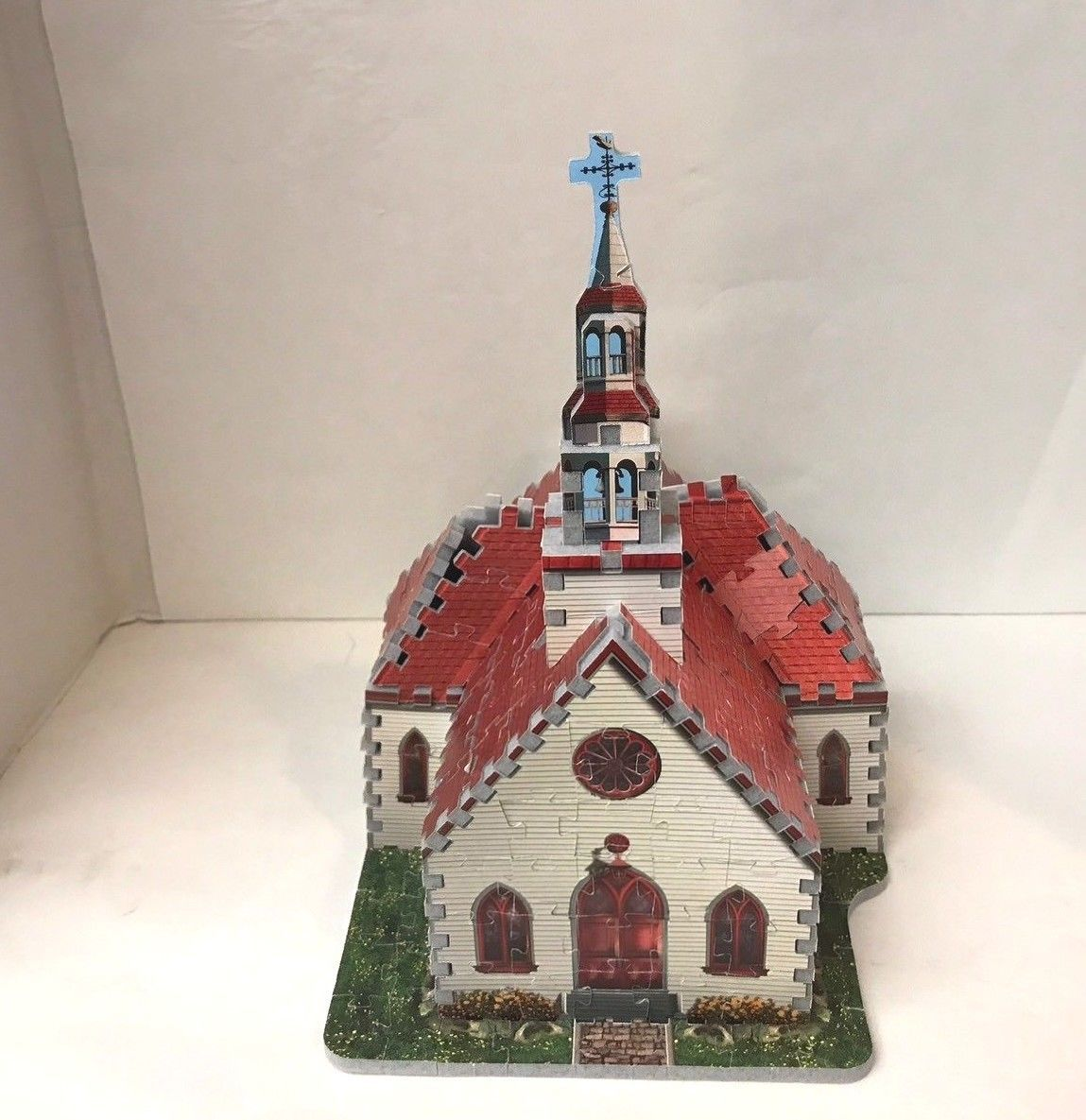Primary image for Foam Puzzle Wrebbit 3 Dimensional Country Church 254 Pieces  1995 Hasbro MB
