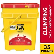 Purina Tidy Cats Clumping Cat Litter, 24/7 Performance Multi Cat Litter - $16.99+