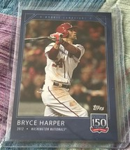 2019 Topps 150 Years of Baseball #12 - BRYCE HARPER - Online Exclusive S... - $5.99