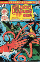 Marvel Classics Comics Comic Book #4 20,000 Leagues Under The Sea 1976 V... - $4.50