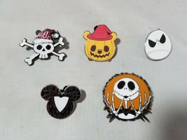 Disney Official Trading Pins Spooky Halloween Theme Lot of 5 Collectible - $4.70