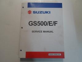 1991 Suzuki GS500/E/F Service Repair Shop Workshop Manual FACTORY Brand New - $138.55