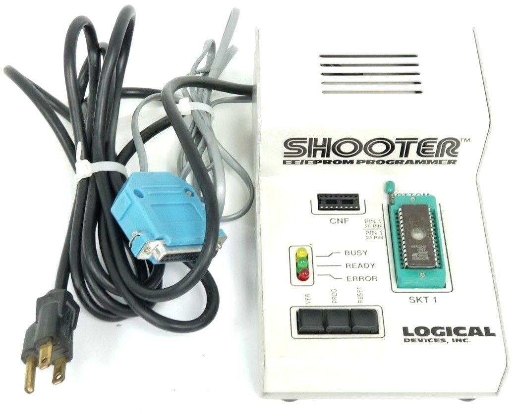 LOGICAL DEVICES INC. MODEL: SHOOTER PROM PROGRAMMER SERIES: PROMPRO
