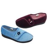 Ladies Slippers Panda Erlena Blue or Burgundy  Slipper Size 5-10 New - $21.46