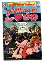 Falling In Love #118 comic book 1970-DC-Woodstock Concert issue- - $81.97