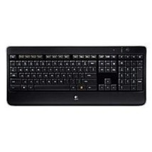 Logitech 920-002359 K800 Wireless Illuminated Keyboard - USB - Black - $2.038,48 MXN