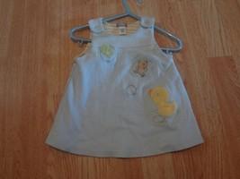 Infant/Baby Girls Carter's Sz 9 Mo. Blue Dress W/ Duck Frog & Bear - $9.49