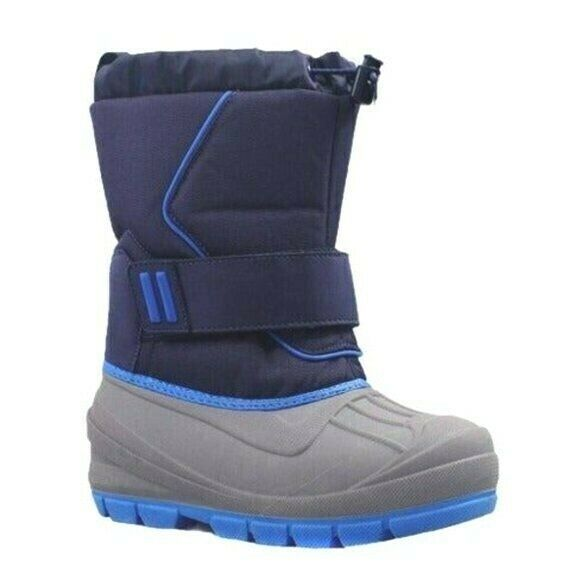 Cat & Jack Boys Kids Youth Blue Gray Cordie Thermolite Insulation Winter Boots