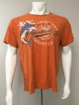 Margaritaville T Shirt Original Since 1977 Orange Men Large  - $21.55