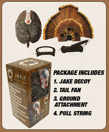"Primary image for Jake Intimidator Turkey Decoy ""GOT MOTION"""