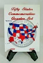 FIFTY STATE COMMEMORATIVE QUARTER SET 1999-2008,COMPLETE FOLDER - $21.73