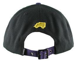 Trukfit Noir Hommes Violet Jaune Galaxy Baseball Casquette Chapeau T1208H09 Nwt image 4