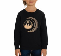 Harry Potter Golden Moon Children's Black Unisex Sweatshirt - $25.07