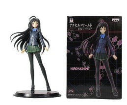 NEW Kuroyukihime Figure School Uniform Ver. Japan anime Accel World Banpresto - $26.78